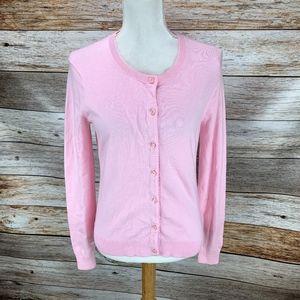 Vineyard Vines Cardigan Sweater Pale Pink